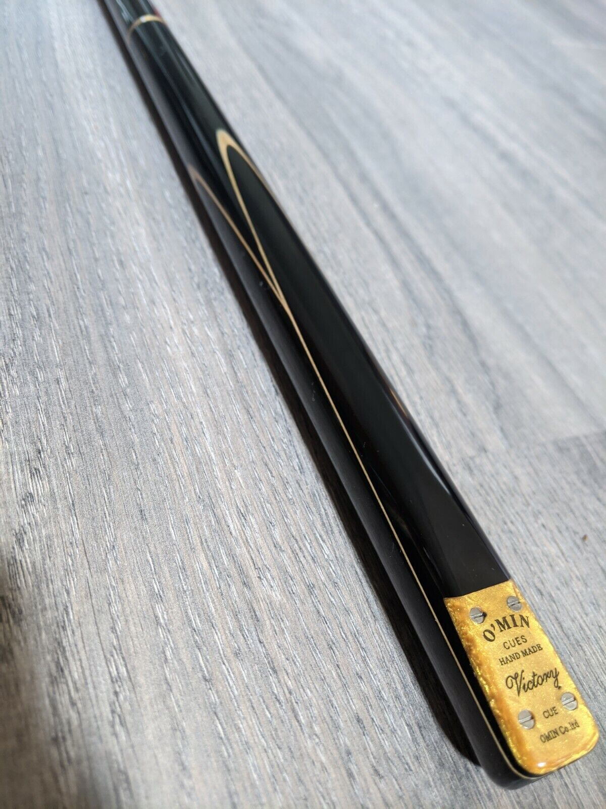 Omin Victory 3/4 Joint Snooker Cue with Mini Butt - WAS 175.00