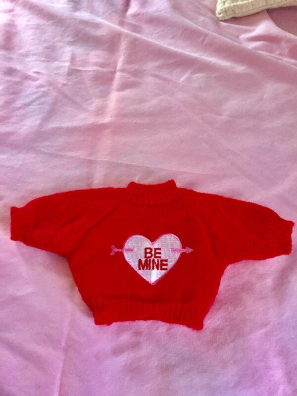Valentine Teddy Bear Sweater