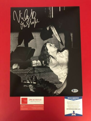 Nick Castle Hand Signed Michael Myers 11x14 photo Halloween 1978 With BAS COA