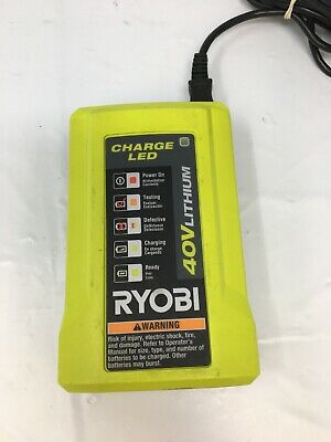 Ryobi OP404 40-Volt Li-Ion Replacement Spare OEM Compact Battery Charger, R844