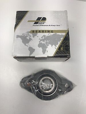 Flange Bearing - 2 Bolt 1-18 Inch -ucfl206 -new In Plastic Wrap