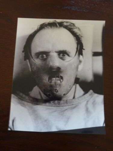 Anthony Hopkins Silence of the Lambs 8x10 B&W Promo Photo