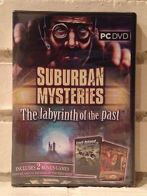 Computer Games - suburban mysteries --- 3 mystery action adventure computer games --- new