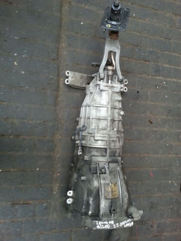 LEXUS IS220D 2.2 DIESEL 05-06-07-08-09-10  6 SPEED MANUAL GEARBOX (LOW MILEAGE)