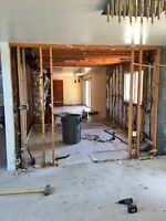 FULL GUTS, FLOOR REMOVAL, KITCHEN REMOVAL, WALL REMOVAL AND MORE