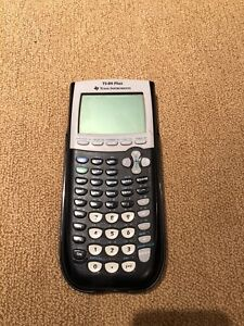 Texas Instruments Ti-84 Plus Graphic Calculator (Vancouver)