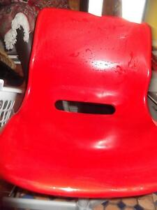 RED SNILLE OFFICE OR STUDY CHAIR Marrickville Marrickville Area Preview