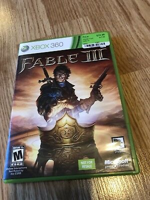 Fable 3 Xbox 360 Cib Game VC6 for sale  Duncan