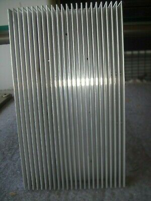 Premiumfinned Aluminum Heat Sink 4.85in X 7.85in - Great Condition - Free Ship