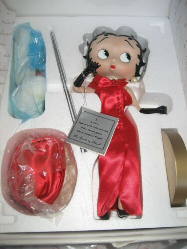 Simply Stunning/ Betty Boop Danbury Mint/ Collector Doll (RETIRED)