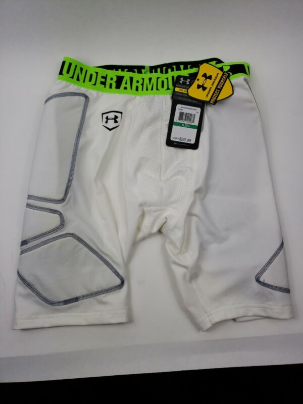 UNDER ARMOUR  FIT Slider Padded Compression Shorts Youth Large Baseball Football