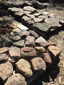 Bush rock for landscaping