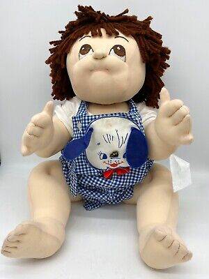 Handmade Soft Sculpture Baby Doll Like Cabbage Patch Jointed Super Cute!