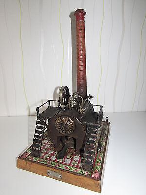 Stationäres Lokomobil 13675 / 1 Bing um 1905 Fließenboden 2 Treppenaufgänge