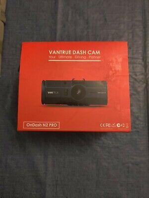 "Vantrue N2 Pro OnDash Dual Dash Cam 1.5"" 1920 x 1080p Infrared Night Vision !~!"