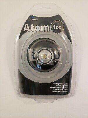 Cyclops Atom 1oz Ultra - Light  LedHeadlamp, waterproof, reversable headband. - Headband Light