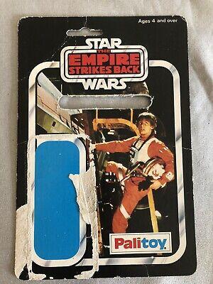 Vintage Star Wars Luke Skywalker (X-wing Pilot) Figure Palitoy 30 Back Cardback