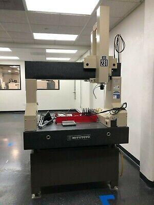Mitutoyo B-231 Manual Cmm Coordinate Measuring Machine