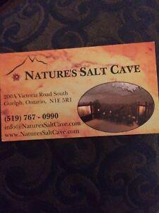 Natures Salt Cave package