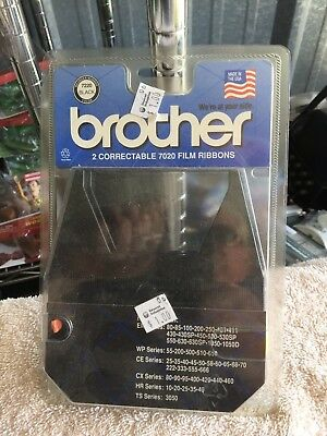 Lot Of 2 Brother 7020 Correctable Film Ribbon Correction Tape New