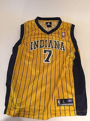 Jermaine O'NEAL INDIANA PACERS jersey by REEBOK NBA /men/yellow/ L