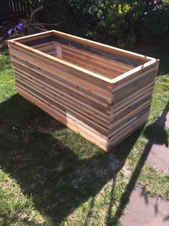 Raised timber garden planter cum fish pond frame work. Devonport Devonport Area Preview