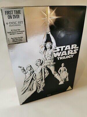 Star Wars Trilogy: Episodes IV, V and VI DVD (2006) Mark Hamill, Lucas