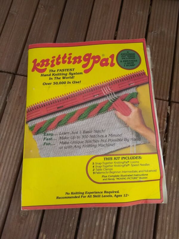 Vintage Walter Palange Knitting Pal As Seen On TV - New In Original Packaging