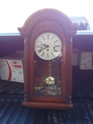 Howard Miller Rare 613-106 Key Wound, Westminster Chime Wall Clock RARE