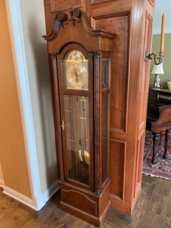Howard Miller Grandfather clock model 610-232 Solid Cherry