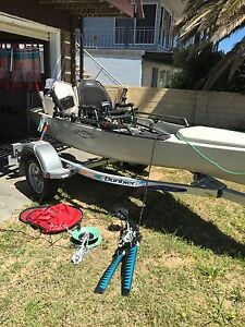 2015 Hobie Pro Angler 14 Kayak plus trailer Halls Head Mandurah Area Preview
