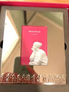 Brand new in box Mirror finish Wedgwood picture frame