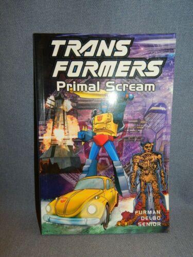 TRANSFORMERS PRIMAL SCREAM GRAPHIC NOVEL ~ TITAN BOOKS 2001 ~ NEW & UNREAD