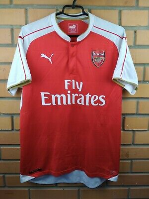 26c71ec3a Arsenal jersey large 2015 2016 home shirt soccer football Puma