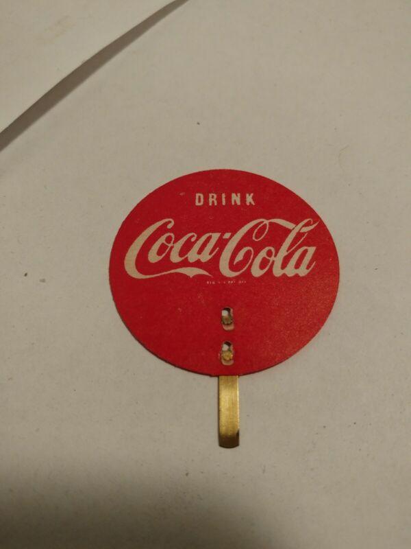 1957 Scarce NOS Coca-Cola Calendar Hanger