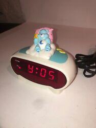 Care Bears Bedtime Bear Digital Alarm Clock Working Vintage