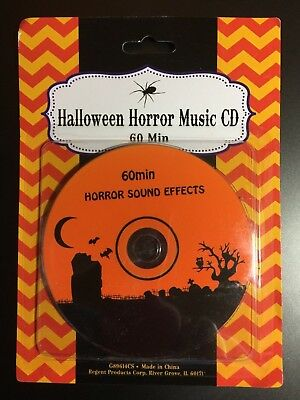 Halloween Horror Music (HALLOWEEN HORROR SOUND EFFECTS MUSIC CD BRAND NEW SPOOKY PARTY)