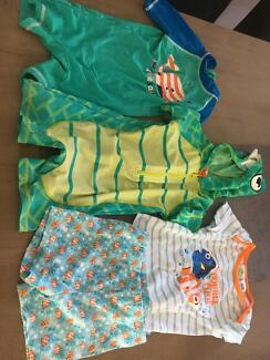 Boys 1 swimmers and pj set