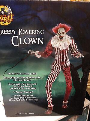 Spirit Creepy Towering Clown](Spirit Halloween Clown Prop)