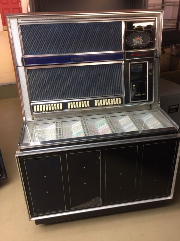 Seeburg Stereo 150 Jukebox Phonograph Vintage Retro