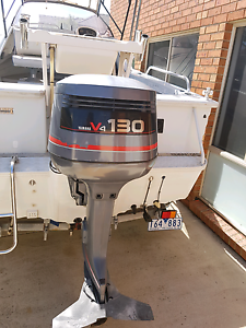 Yamaha 130hp V4 with hydraulic steering Seabrook Hobsons Bay Area Preview