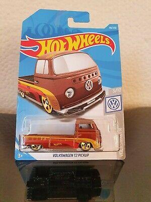 Hot Wheels 2019 Volkswagen T2 Pickup *96/250 HW Volkswagen *3/10 FYD71 Long Card