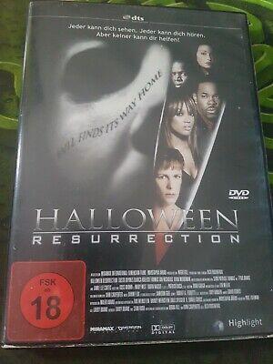 Halloween: Resurrection DvD