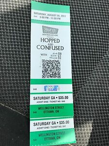 2x GA Hopped and Confused Tickets (Saturday)