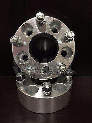 "Set of 2 1.5"" Wheel Spacers 5x120 w/ 12-1.5 Studs Fits BMW 318 323 325 328 330"