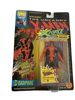 1992 X-FORCE Uncanny X-Men DEADPOOL Action Figure Marvel Toy Biz Item No 4957