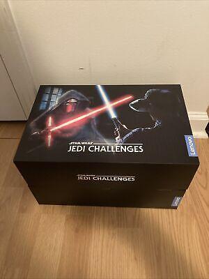 Lenovo Star Wars Jedi Challenges Lightsaber AR VR Game Headset Complete!