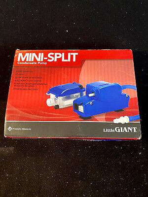 A9654 Little Giant Ec-1 Condensate Pump For Mini Split