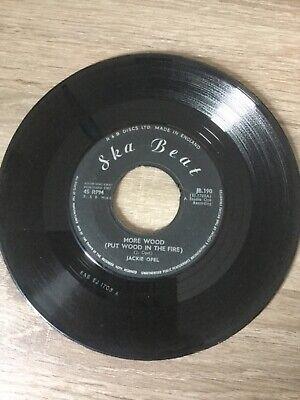 "JACKIE OPEL - More Wood, original 7"" vinyl ska UK 65 (Ska Beat) JB 190, usado comprar usado  Enviando para Brazil"
