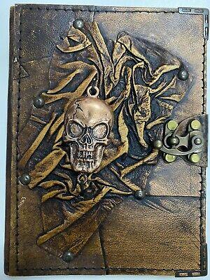 Medium(18 x14) Handmade Vintage Brown Genuine Leather Journal / Notebook / Diary